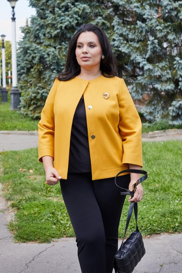 Кардиган 21-02 желтый