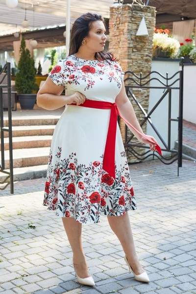 Сукня 599-02 біла