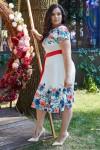 Платье 599-03 белое