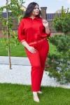 Спортивный костюм 686-04 красный