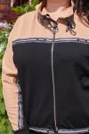 Спортивный костюм 687-01 бежевый