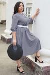 Красива сукня з поясом 696/1-01 візерунок