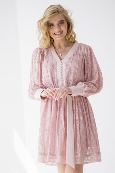 Сукня 234-01 рожева