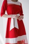 Плаття 406-01 червоне