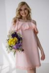 Плаття 427-02 рожеве
