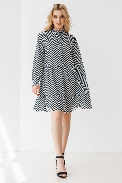 Платье 661-06 узор