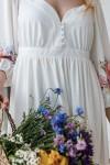 Платье 803-01 белое