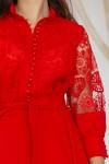 Сукня 247-01 червона