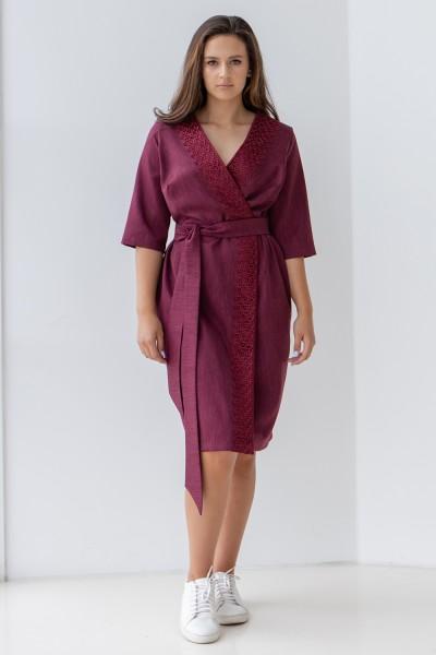 Сукня 571-01 фіолетова