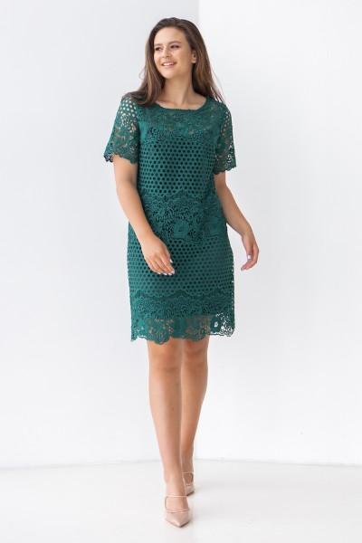 Сукня 806-03 смарагдова