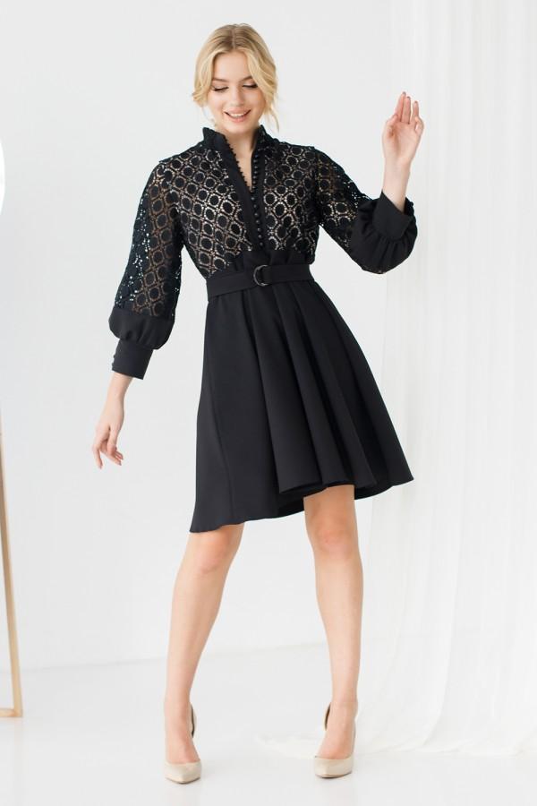 Платье 235-04 черное