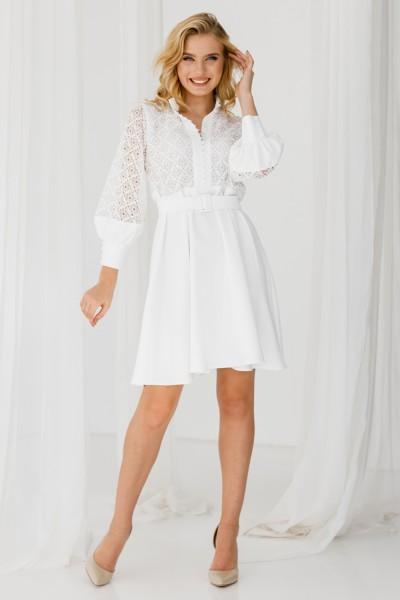 Платье 235-05 белое