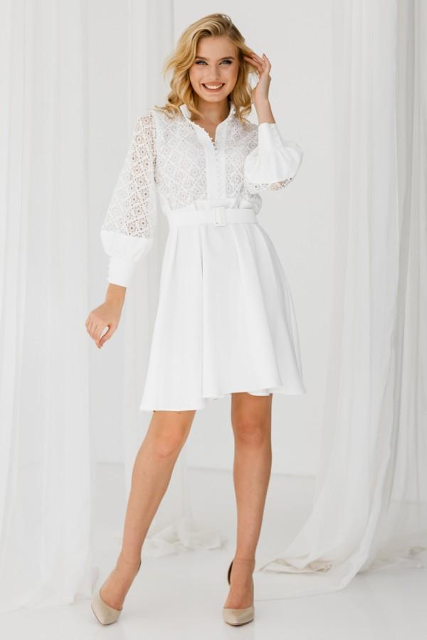 Плаття 235-05 біле