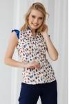 блуза 181-01 з принтом