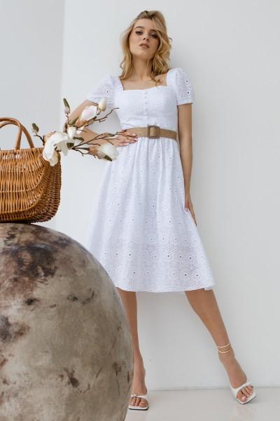 Сукня 244-01 біла