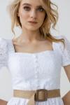 Платье 244-01 белое
