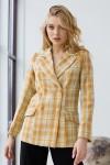 Пиджак 249-02 желтый