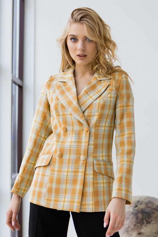 Піджак 249-02 жовтий