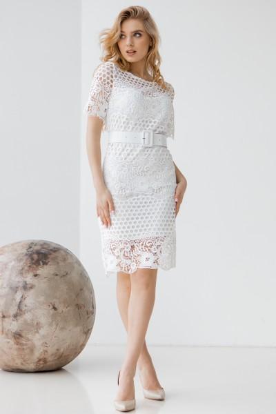 Сукня 250-01 біла