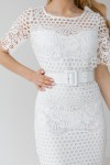 Платье 250-01 белое