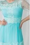 Платье 445-01 бирюза