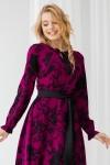 Платье 615-01 фиолетовое