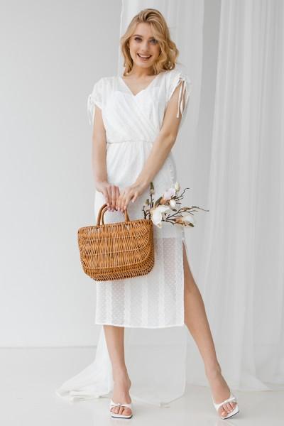 Сукня 802-01 біла