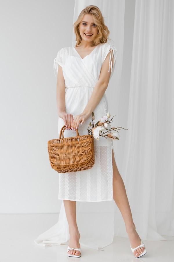 Платье 802-01 белое