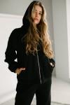 Красивый женский костюм 164-04 черный