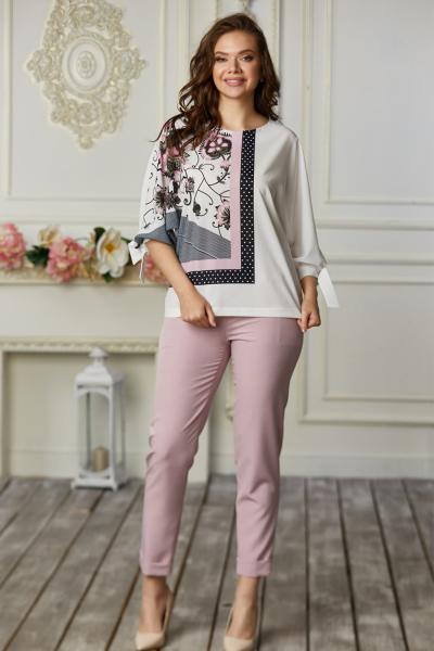 Костюм жіночий 656/1-08 рожевий