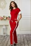 Спортивный костюм 682-03 красный