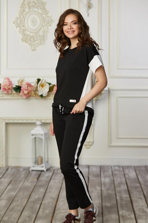 Спортивний костюм 682-05 чорний