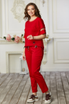 Костюм женский 683-01 красный