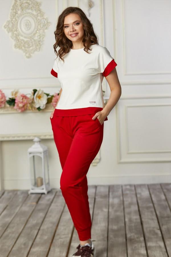 Спортивный костюм 684-03 красный