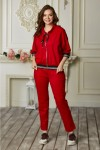 Спортивний костюм 686-01 червоний