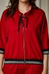 Спортивный костюм 686-01 красный