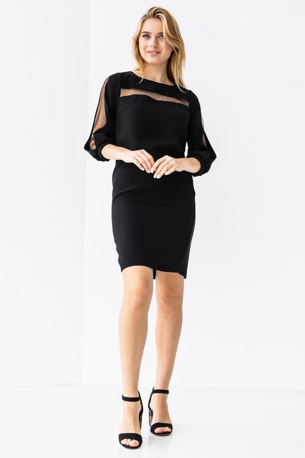 Платье 011-01 черное