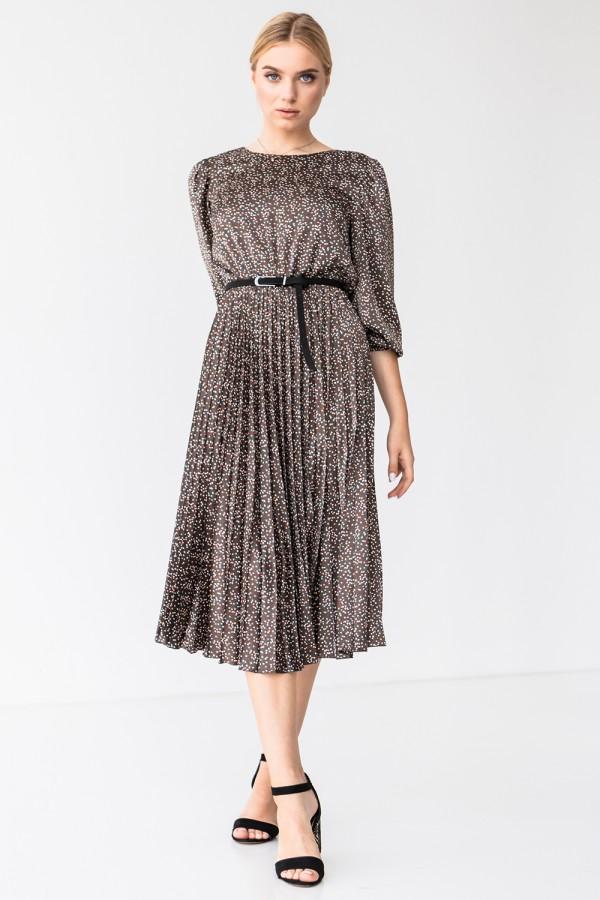 Платье 192-08 принт