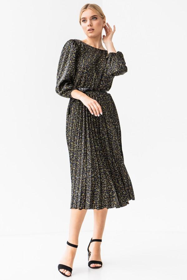 Платье 192-09 принт