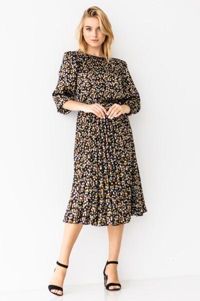 Платье 192-10 принт