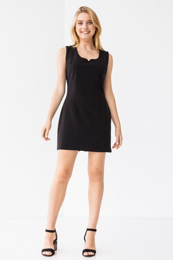 Платье 211-01 черное