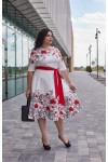 Сукня 799-01 біла