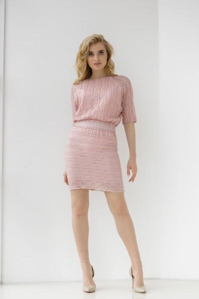 Платье 647-01 фрезовое