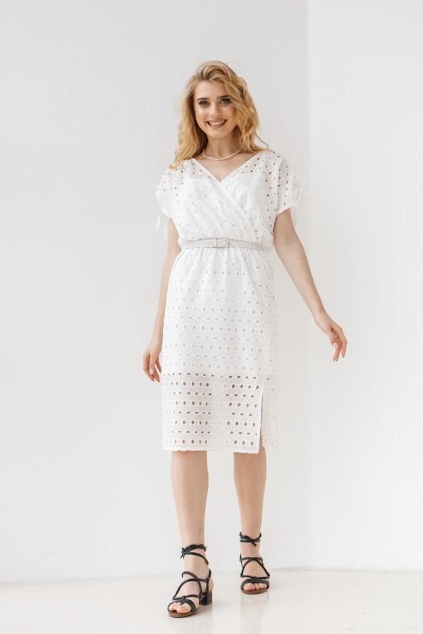Платье 805-01 белое