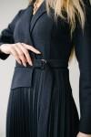 Красивое платье 171-03 темно синее