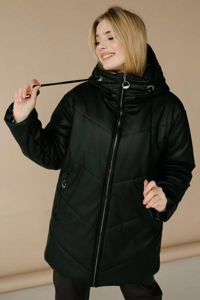 Куртка 176-01 чорна