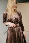 Красива сукня 180-01 мідь