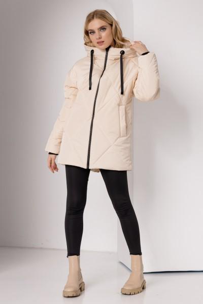 Куртка 836-02 молочна