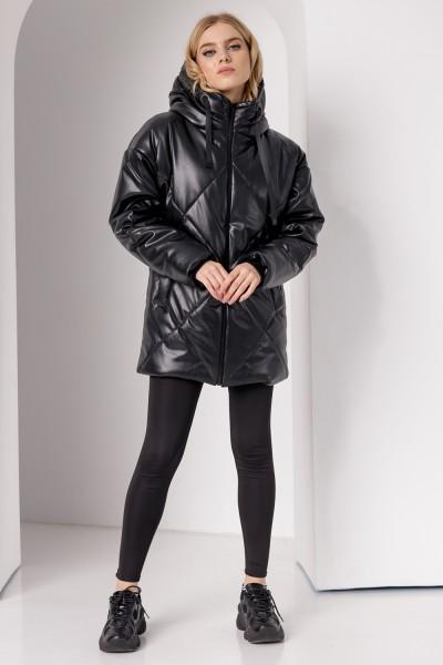 Куртка 839-03 чорна