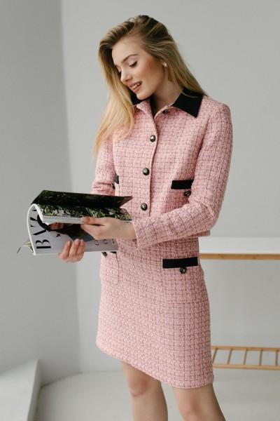 Женский костюм 188-03 розовый